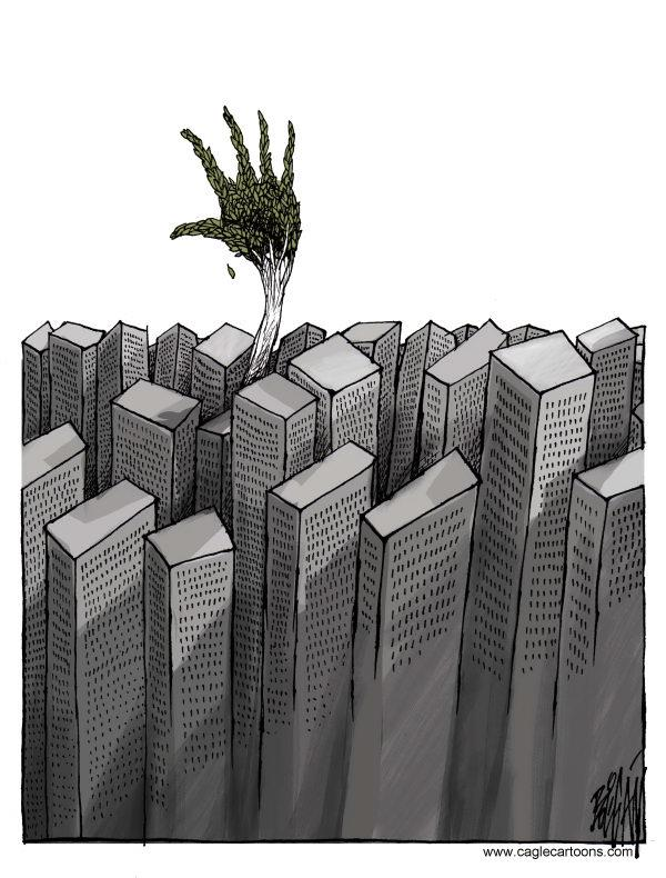 città invivibile